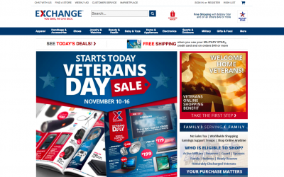 Discharged Vets Can Now Shop at AAFES Online
