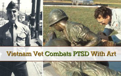 Vietnam Vet Combats PTSD With Art