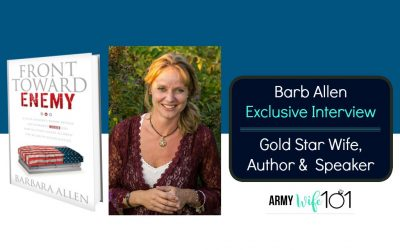 Inspiring Interview with Gold Star Wife, Author & Speaker, Barb Allen