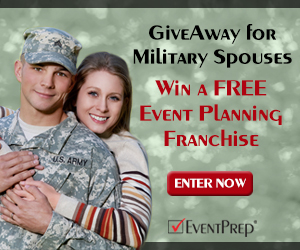 Milspouses Win Your Own EventPrep Franchise
