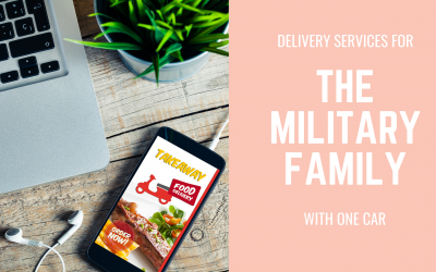 Delivery Services For The Military Family With One Car