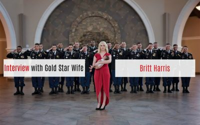 Exclusive Interview with Gold Star Wife Britt Harris