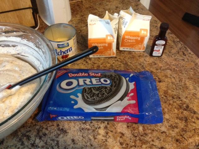 ChowHall: Easy No Ice Cream Machine Needed 5 Ingredient Oreo Ice Cream Recipe