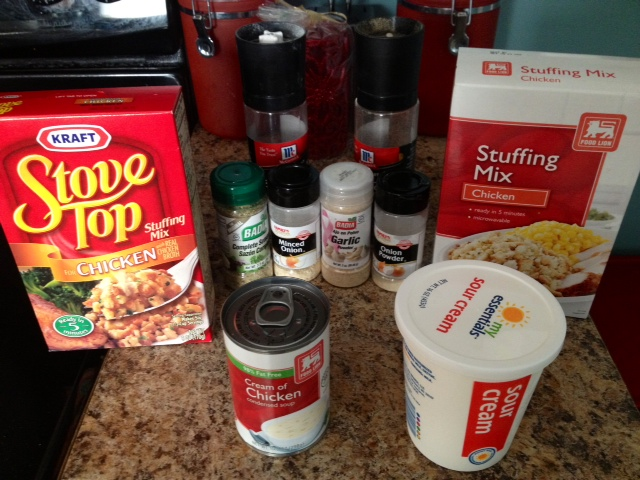 Chow Hall: So This Is What I Am Cooking Today…ONLY 4 Ingredient Chicken & Stuffing Crock Pot Meal!