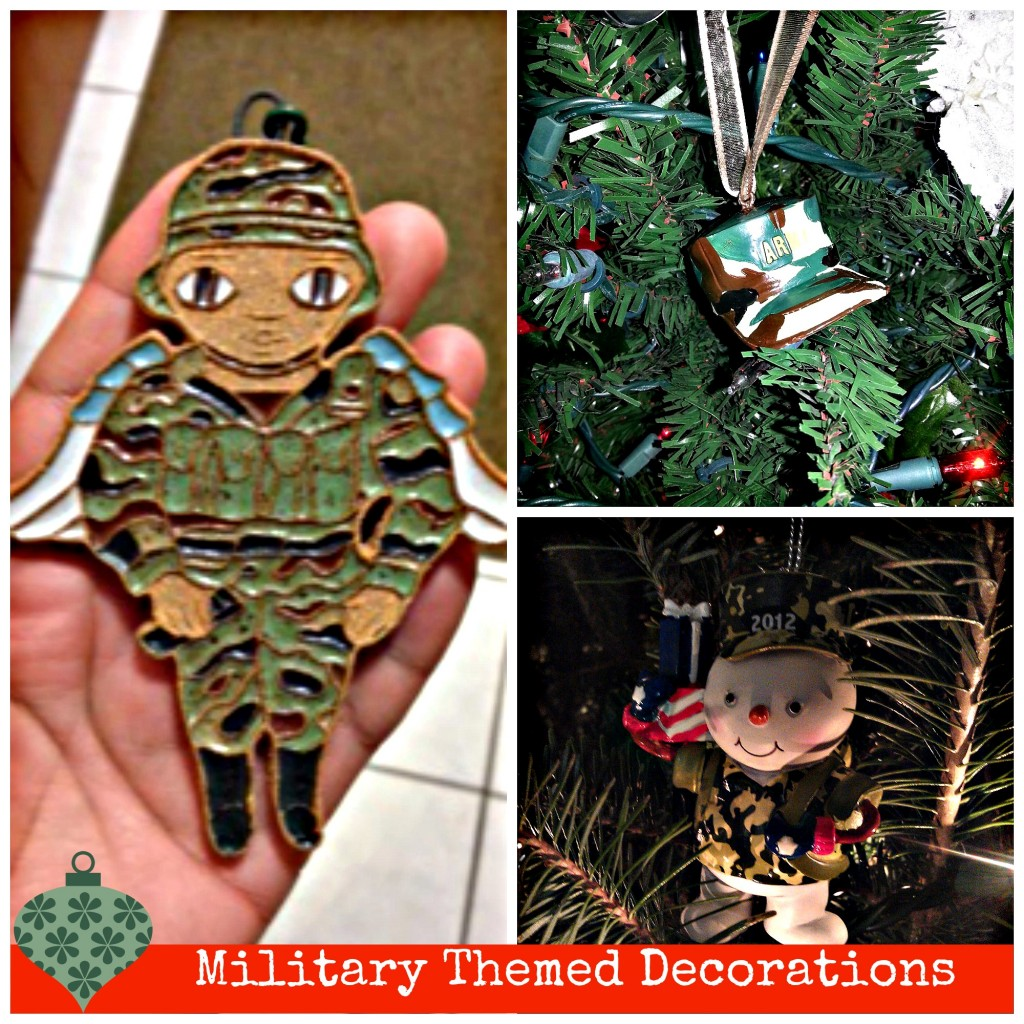 Wordless Wednesday: Military Holiday Decor Themed Christmas Trees ...