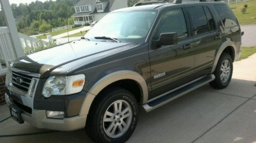 My newer Ford Explorer