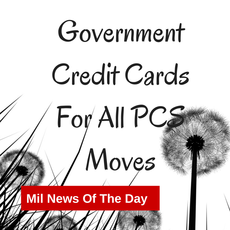 military government credit cards