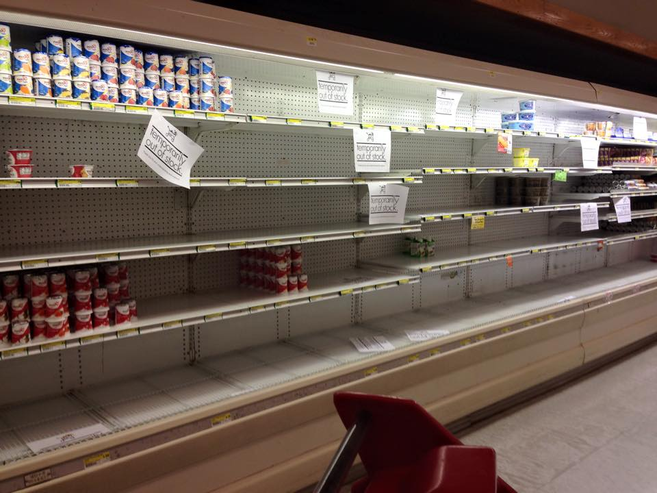Do You Live Overseas…Have Your Commissary Shelves Been Bare? Here's Why!