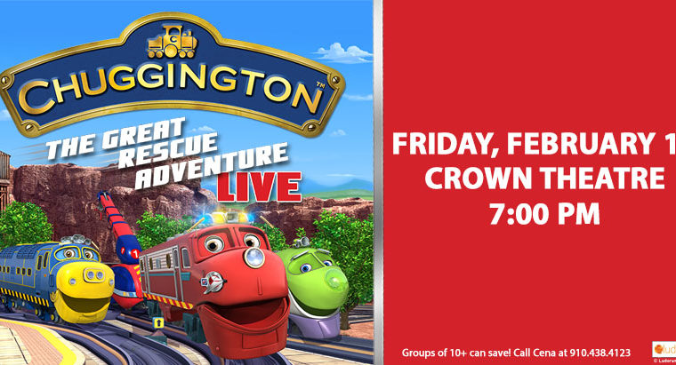 Fayetteville/Fort Bragg Happenings: Chuggington LIVE + 2 Family Pack Ticket GIVEAWAY