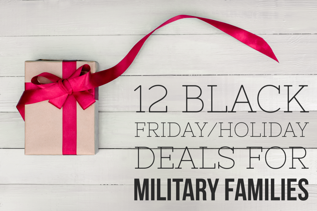 12 Black Friday Holidays Deals For Military Families