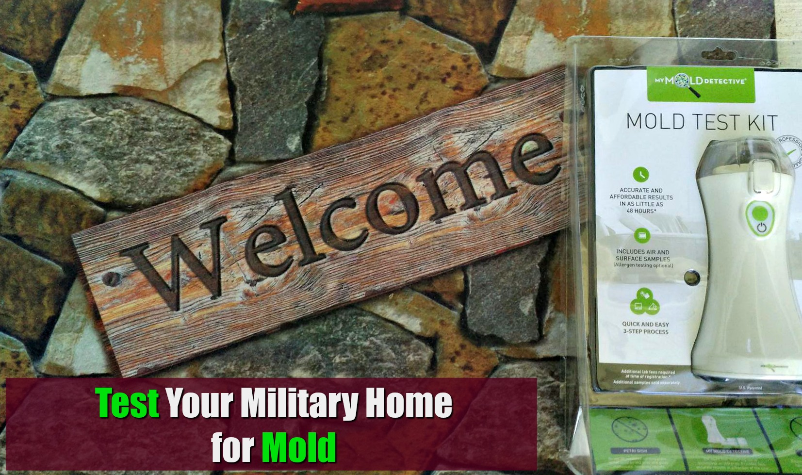 Test Your Military Home for Mold