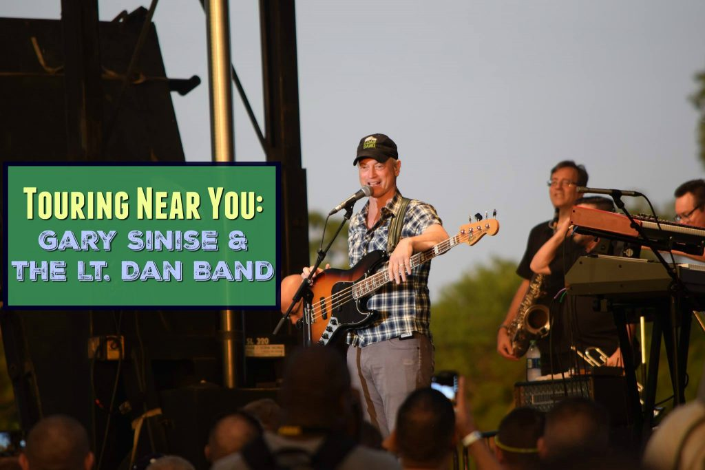 Touring Near You: Gary Sinise and the Lt. Dan Band