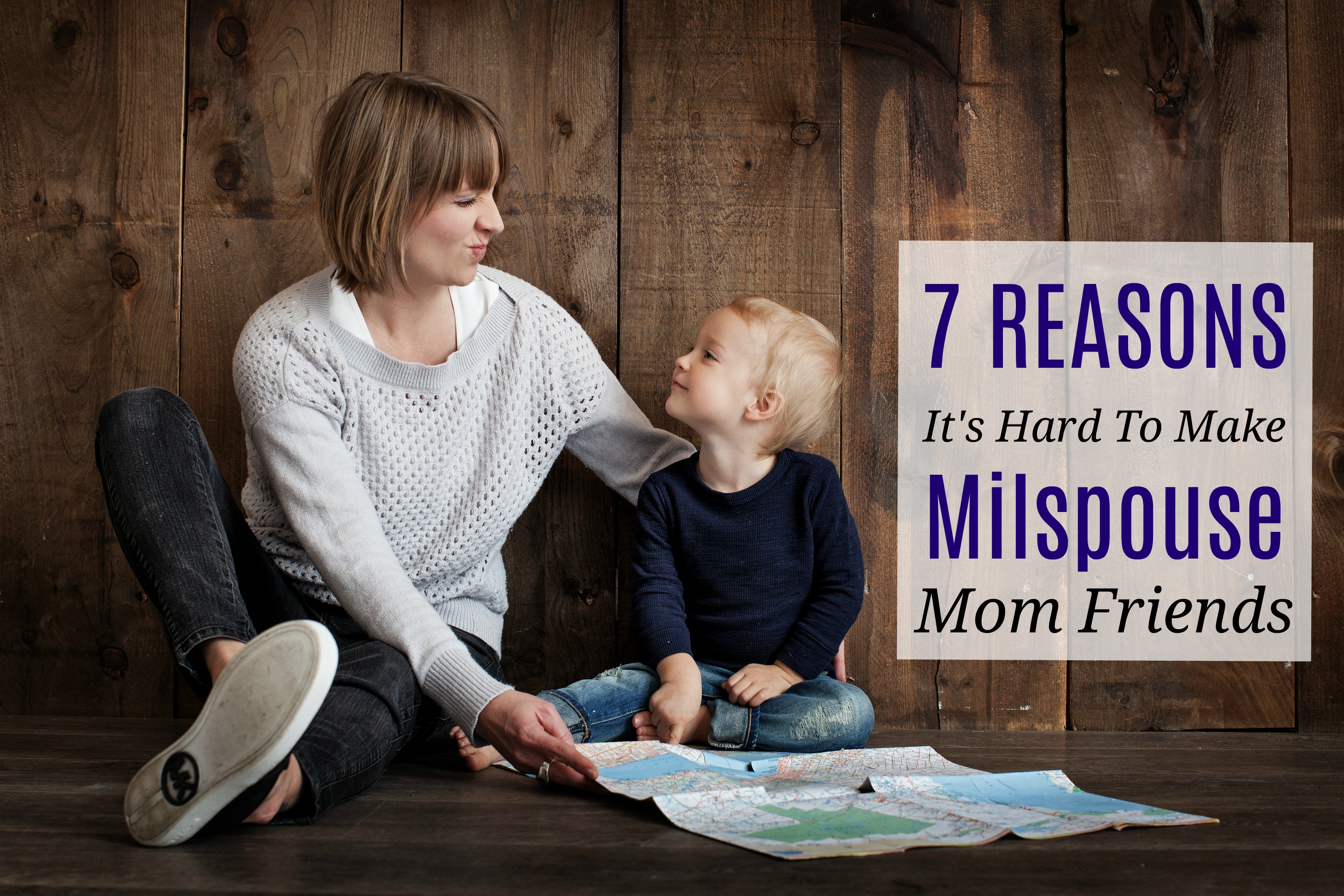 7 Reasons It's Hard to Make Milspouse Mom Friends