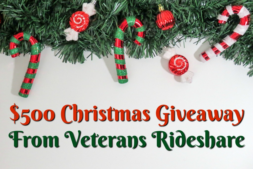 $500 Military Family Christmas Giveaway From Veterans Rideshare