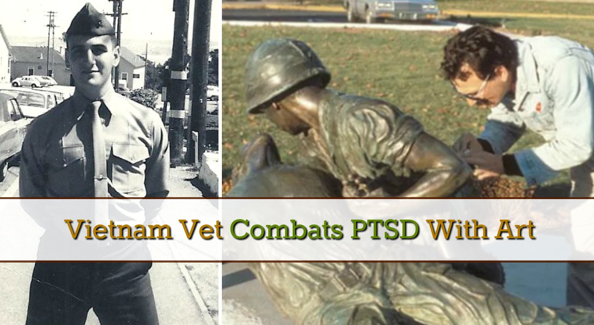 Vietnam Vet Combats PTSD With Art - Army Wife 101