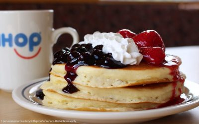 Eat Red White & Blue Pancakes With A Purpose At IHOP And Help Children Of Fallen Patriots
