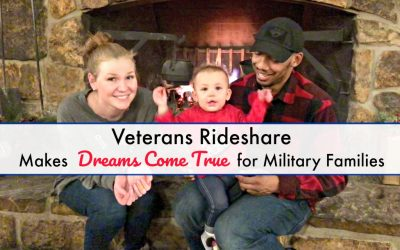 Veterans Rideshare Makes Dreams Come True for Military Families