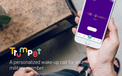 Send A Personalized Wake Up Call To Your Service Member With Trumpet