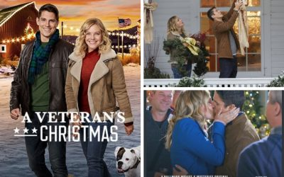 """Get In the Holiday Spirit With The Hallmark Movies & Mysteries Holiday Movie Premiere of """"A Veteran's Christmas """" + A Giveaway!"""