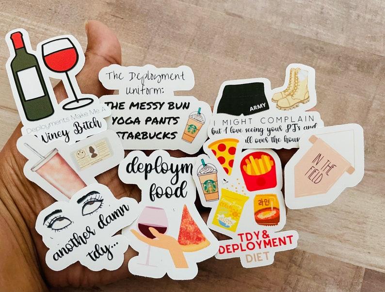 Shop Military Spouse Stickers & Decor